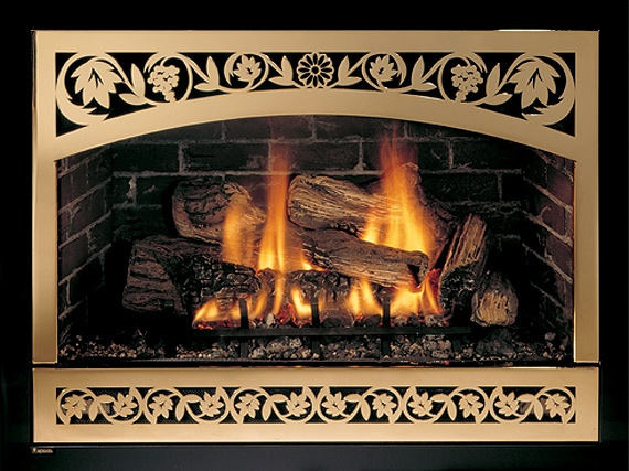 Crofton Maryland gas fireplace insert & logs installation repair service.