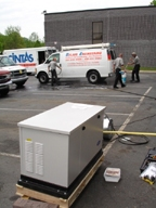 Davidsonville MD Standby Generator. Maryland standby backup house generator installation.