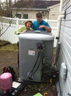 Annapolis MD Heat Pump repair service & installation.